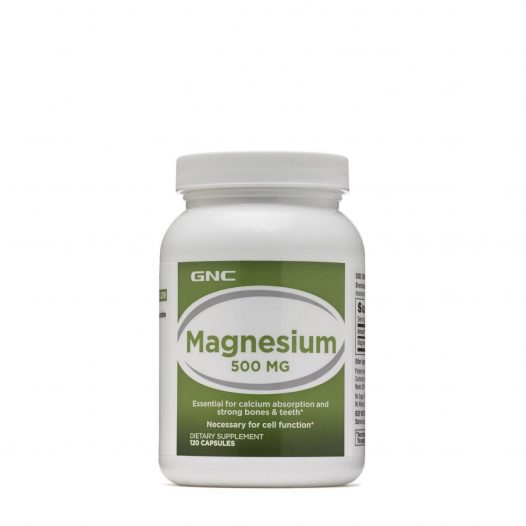 GNC Magnesium 500mg 120 Capsulas