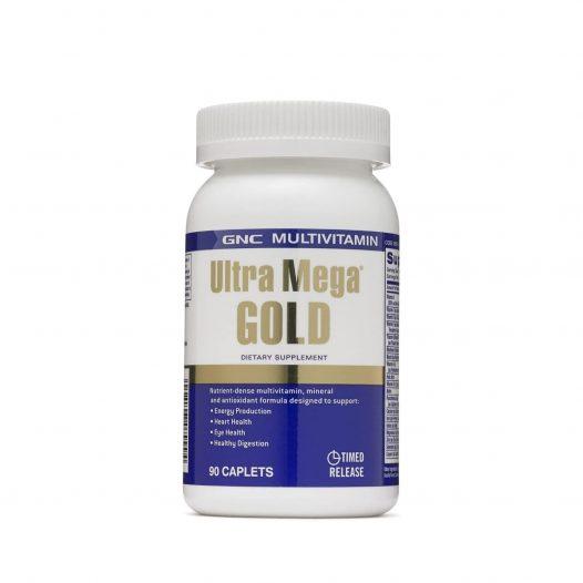 GNC Multivitamin Ultra Mega Gold 90 Caplets 90 Capletas