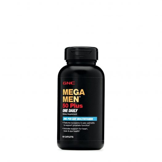 GNC Mega Men 50 Plus One Daily 60 Tabletas