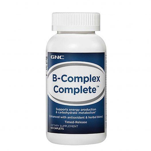 GNC BComplex 75 60 Cápsulas