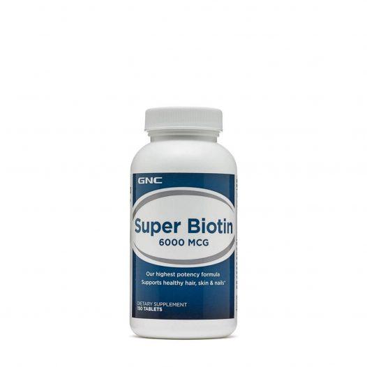 GNC Super Biotin 6000mcg 150 Tabletas