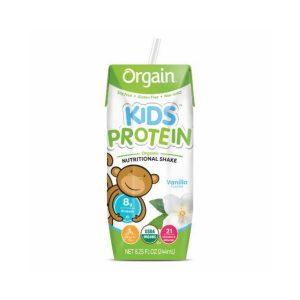 Orgain Kids Protein Organic Nutritional Shake 8.25 Oz 12 Unidades / Vanilla