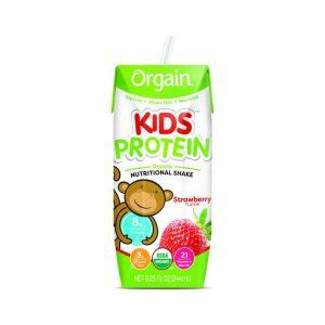 Orgain Kids Protein Organic Nutritional Shake 8.25 Oz 12 Unidades / Strawberry