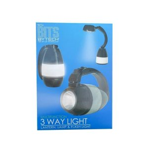 Linterna 3 Way Ligth