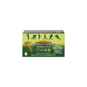 Red Panax Ginseng Extractum Oral Liuid Vial 0.34 Onzas 1 Vial