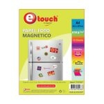 Etouch Papel Fotografico A4 Mágnetico 10 Hojas 260 grs