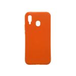 Case El Rey Silicon Naranja Linea A Samsung A20 / A30