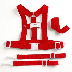 Arnes para Bebe 4 en 1 Rojo
