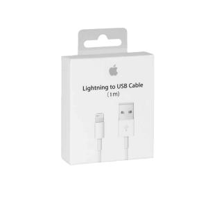 APPLE Cable Iphone 5 , 6 , 8 , X , Xs , 11 LIGHTNING BLANCO