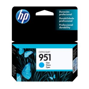HP Cartucho 951 Cian Original
