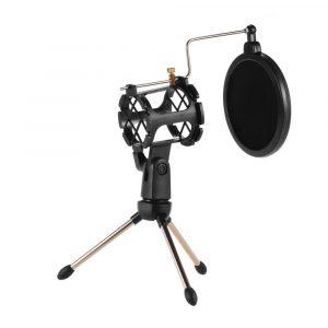 Kit Soporte Trípode para Micrófono