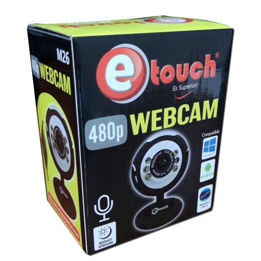 Cámara Web eTouch M26 480P