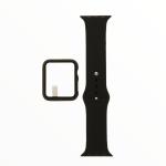 El Rey Pulsera + Bumper Con Protector De Pantalla Para Apple Watch 38 Mm Color Negro
