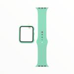 El Rey Pulsera + Bumper Con Protector De Pantalla Para Apple Watch 38 Mm Color Menta