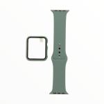 El Rey Pulsera + Bumper Con Protector De Pantalla Para Apple Watch 40 Mm Color Verde Olivo