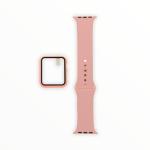 El Rey Pulsera + Bumper Con Protector De Pantalla Para Apple Watch 40 Mm Color Rosado