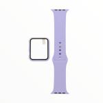 El Rey Pulsera + Bumper Con Protector De Pantalla Para Apple Watch 42 Mm Color Lila
