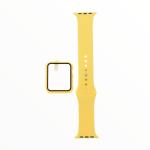 El Rey Pulsera + Bumper Con Protector De Pantalla Para Apple Watch 42 Mm Amarillo