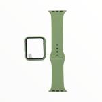 El Rey Pulsera + Bumper Con Protector De Pantalla Para Apple Watch 44 Mm Color Verde Claro