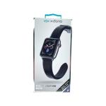 X-Doria Pulsera De Cuero Negro Apple Watch 38 / 40 Mm