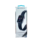X-Doria Pulsera De Cuero Negro Croc Apple Watch 38 / 40 Mm
