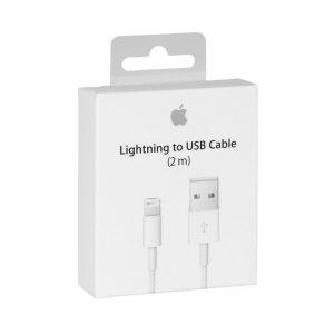 Apple Cable Lightning de 2 Metros Empaque Retail