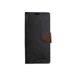 Case Goospery Fancy Diary Negro/Café Samsung S9