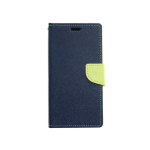 Case Goospery Fancy Diary Azul Marino/Verde - Samsung S9 Plus