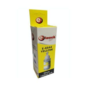 Tinta Universal para Epson serie L y 664 100ml eTouch Amarillo
