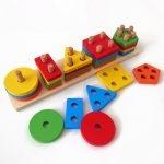 Colorful Geometric Juguete de aprendizaje