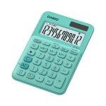 Casio Calculadora Mini de Escritorio MS-20UC-GN Verde