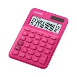 Casio Calculadora Mini de Escritorio MS-20UC-RD Rosado