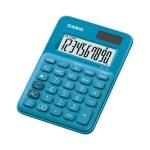 Casio Calculadora Mini de Escritorio MS-7UC-BU Azul