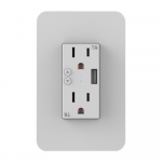 Nexxt Tomacorriente inteligente con puerto USB Wi-Fi