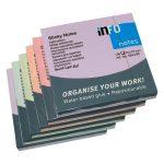 Notas Adhesivas 3×3″ Paquete 6 Unidades Colores Pastel