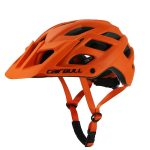 Cairbull Casco para Ciclismo Trail XC Naranja