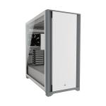 Corsair Case ATX SemiTorre Vidrio Templado 5000D Blanco