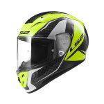 LS2 Casco FF323 Arrow Evo Carbon/Amarillo Talla XL
