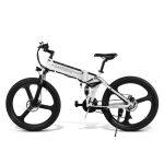 Bicicleta Eléctrica de Montaña Samebike Multipropósito 350W Blanca