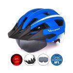 Casco para Ciclismo Victgoal Pro Azul Nacional