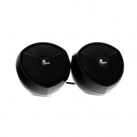 Xtech Bocinas Estéreo con alimentación USB
