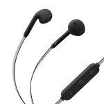 Steren Audífonos Bluetooth 7000 con Cable Reflectante Negro/Gris