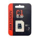 Hikvision Memoria Micro SD de 8GB  (HS-TF-C1)