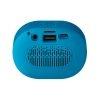Steren Mini Bocina Bluetooth con Reproductor USB/MicroSD y Radio FM Azul