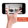 Steren Cámara Wi-Fi Motorizada Con Zoom 217 Blanco  (Robotizada)