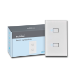 Broadlink Smart Switch Táctil Wifi 2 interruptores