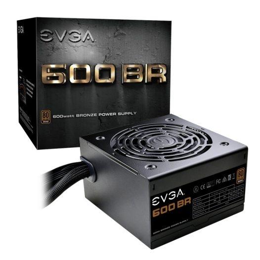 EVGA 600 BR Fuente de Poder 600W 80+ BRONZE