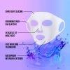 Lindo Mascarilla Facial Wrap De Silicon Reusable 1 Unidad