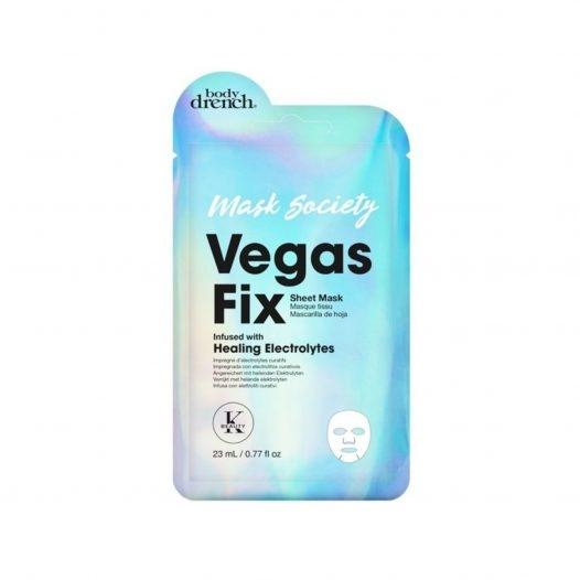 Body Drench Mascarilla En Velo Vegas Fix Unidad