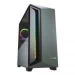 Cougar DarkBlader X7 RGB Verde Case Gaming Media Torre Vidrio Templado ATX Sin Fuente